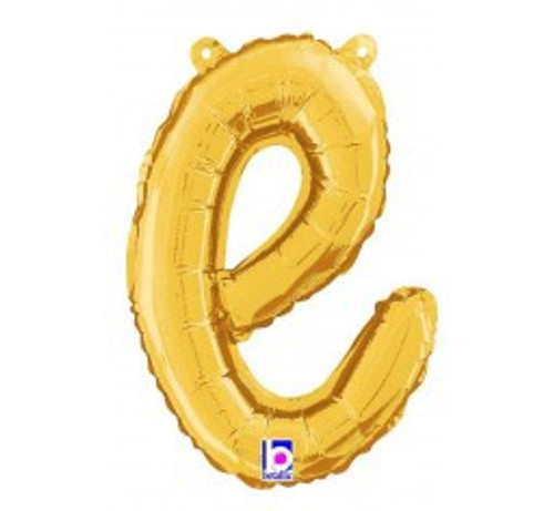 "14"" Script Letter Foil Balloon - e"