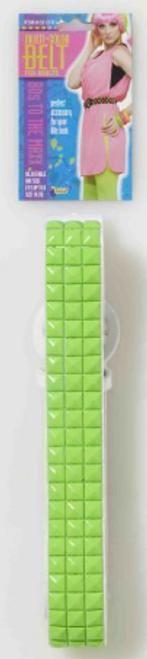 80's Green Studded Belt