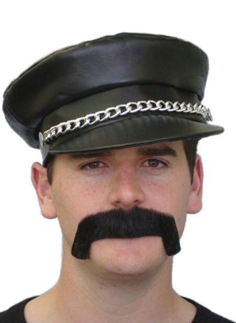 Black Merv Moustache