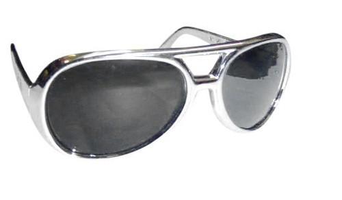 Glasses - 1950's/1960's Sunglasses Silver