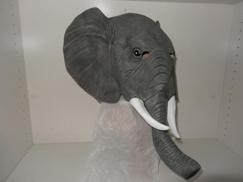 Elephant - Latex Mask