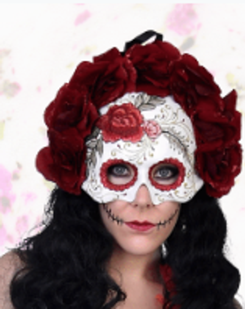 Violeta Day of the Dead Floral Mask
