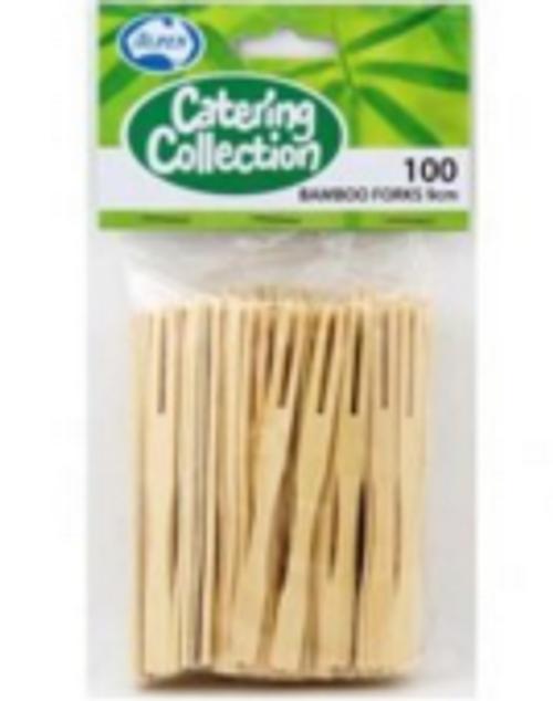 Bamboo Forks - 9cm