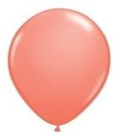 Coral 12cm Balloons - Pack of 100
