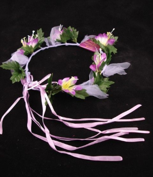 Floral Fairy Headband - Lilac