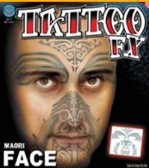 Tinsley Transfers - Tattoo FX Maori Face