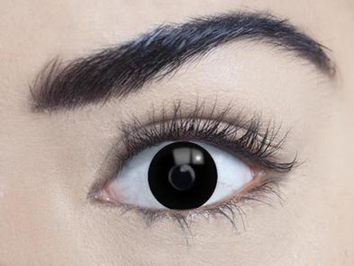 MesmerEyez Contact Lenses - 1 Day - Blackout