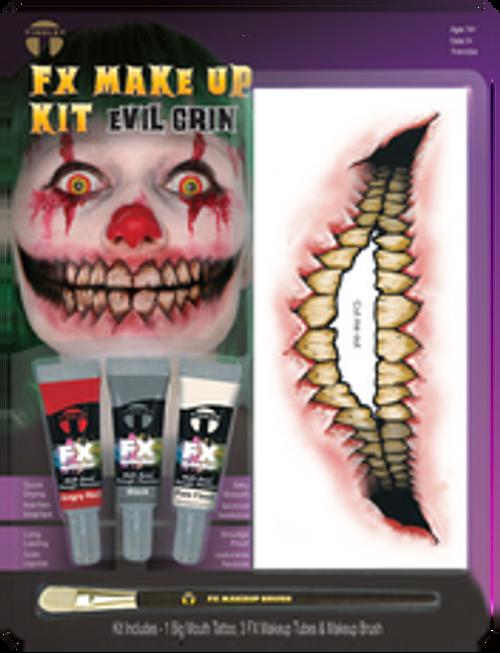 Tinsley Transfers - FX Makeup & Tattoo Kit Evil Grin
