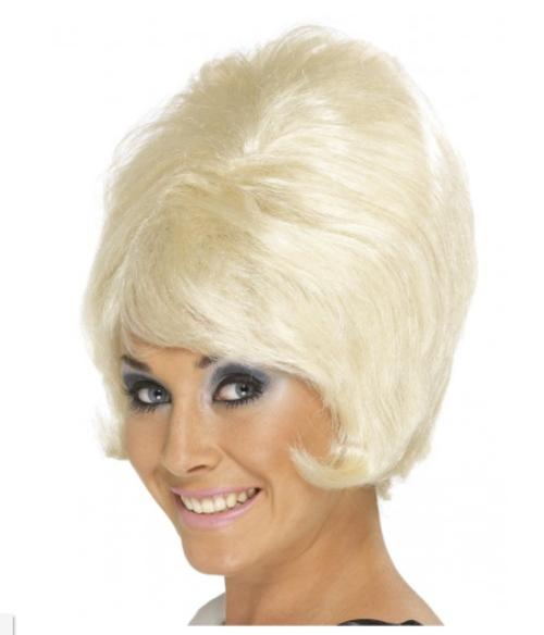 Blonde 60's Beehive Wig