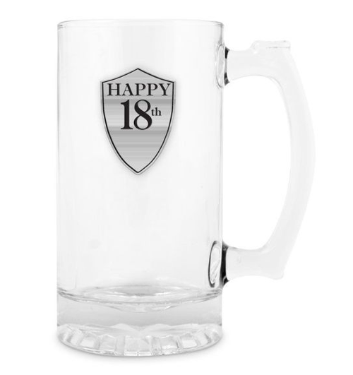 18th Beer Mug with Handle