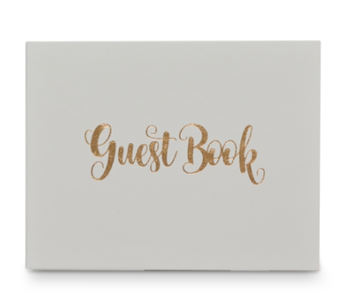 Guest Book - Rose Gold