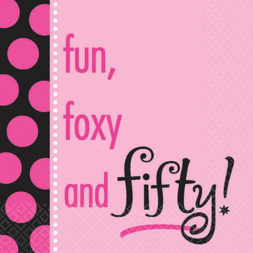 Fun, Foxy and Fifty Napkins