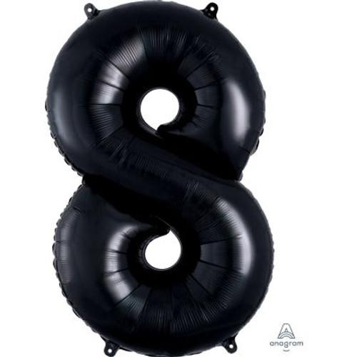 Number 8 Megaloon - Black