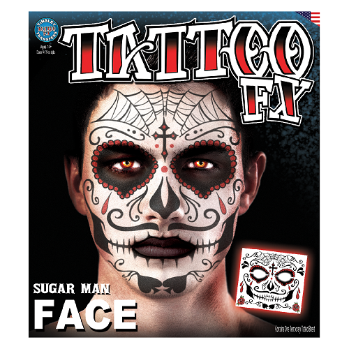 Tinsley Transfers - Tattoo FX Sugar Man