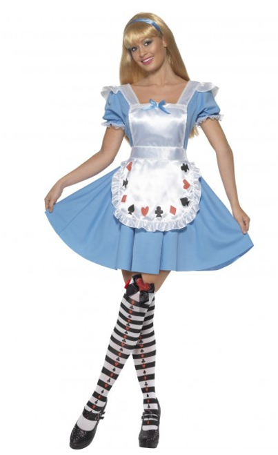 Deck of Cards Girl Costume - L