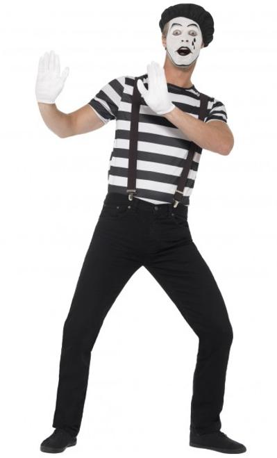 Gentleman Mime Artist Costume - M