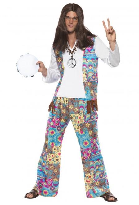 Groovy Hippie Costume - M