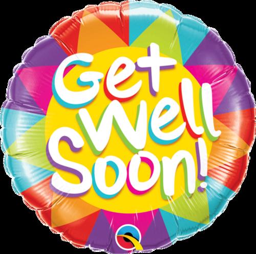 Get Well Soon Sunshine Foil Balloon