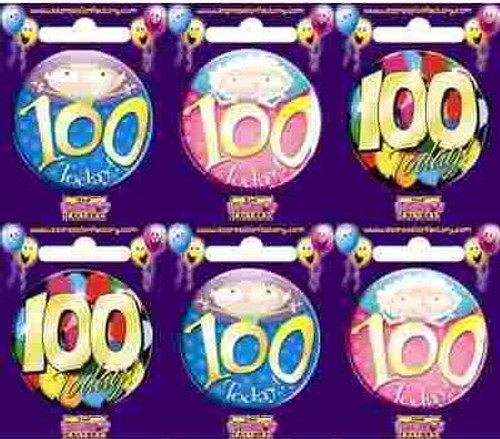 100 Today Badge