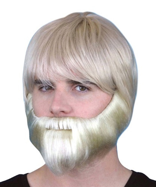 Beard Synthetic Blonde with Elastic