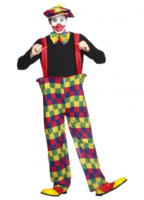 Hooped Clown Costume - L