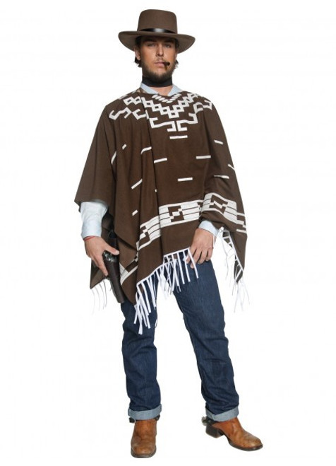 Authentic Western Wandering Gunman Costume - M