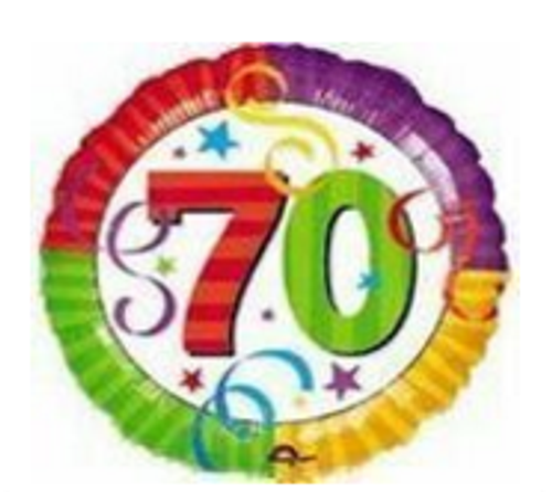Perfection 70 Foil Balloon
