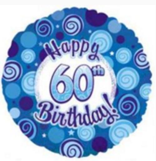 Happy 60th Blue
