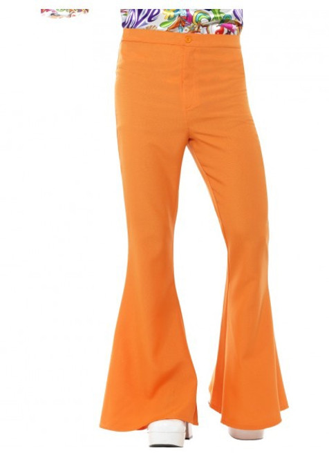 60s Flared Trousers - Orange - XL
