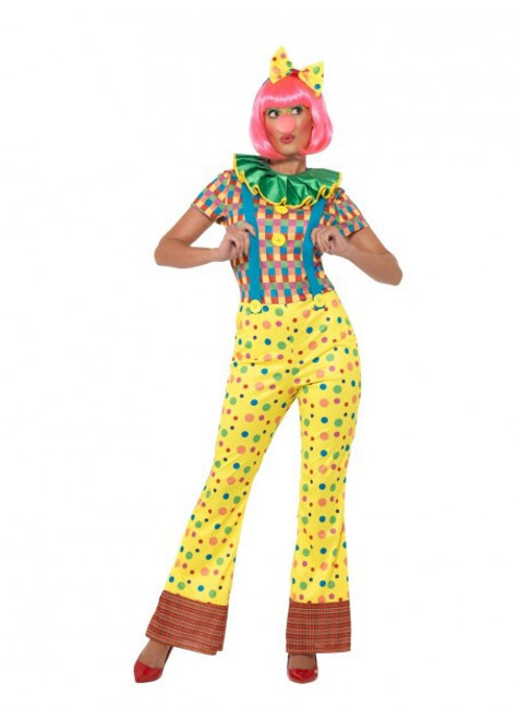 Giggles The Clown Lady Costume - S