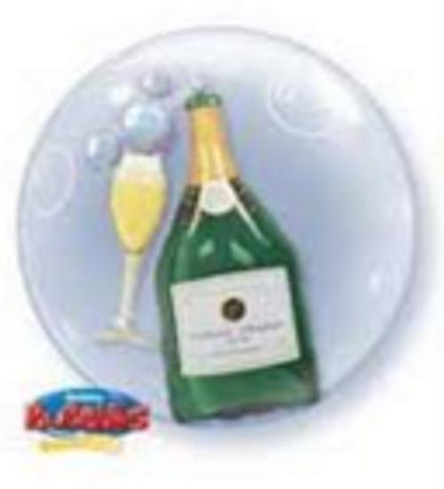 Bubbles Champagne Double Bubble