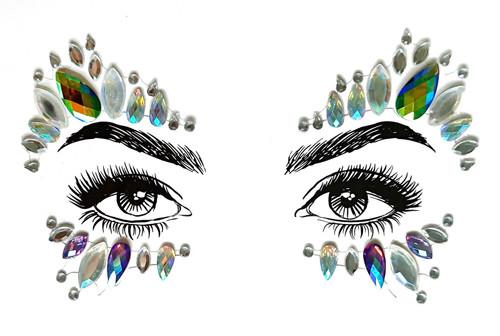 Diamond Daze Face Jewels - Unicorn