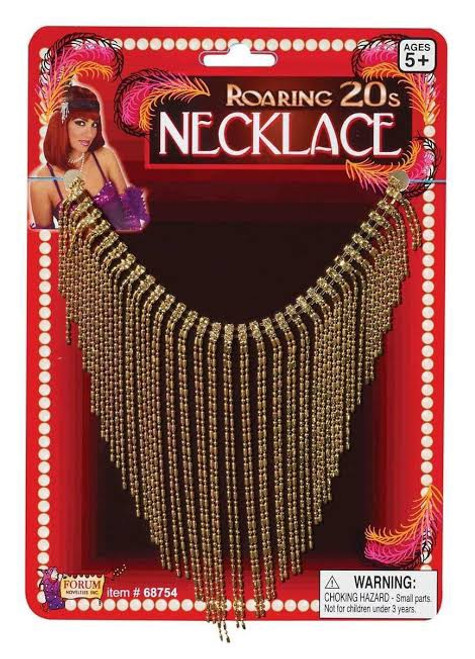 Roaring 20s Gold Necklace