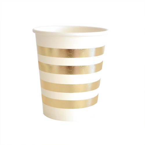 Gold Stripes Cup