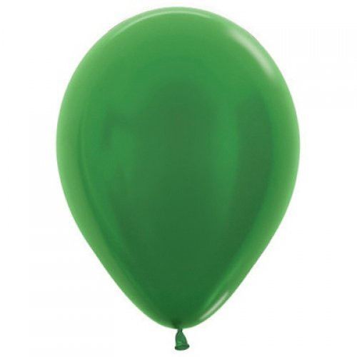 Decrotex Metallic Green 30cm Balloons - 25 Pack