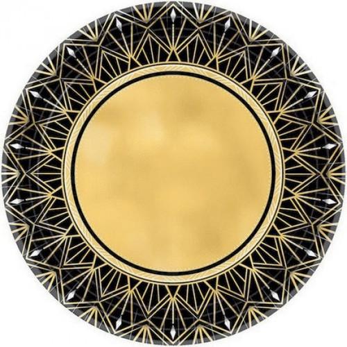 Glitz & Glam Foiled Paper Plates