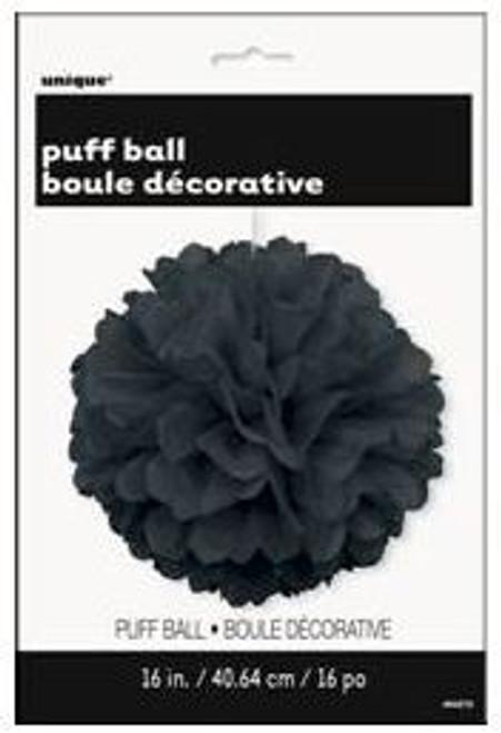 Puff Ball 40cm - Black