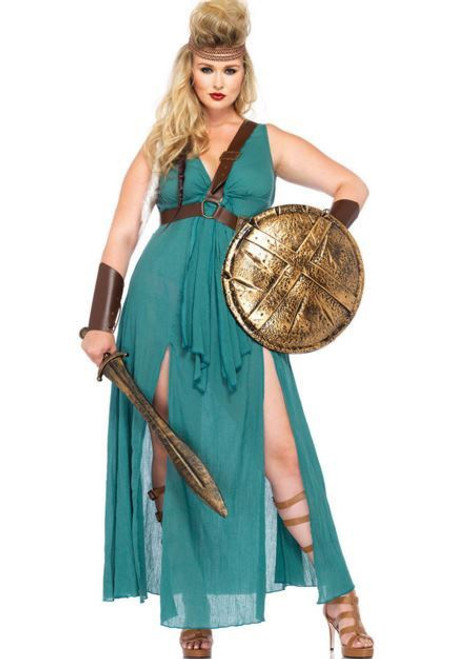 Warrior Maiden - Plus Size Costume