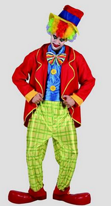Mad Hatter Adult Clown Costume