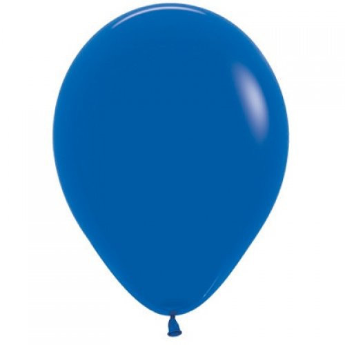 Decrotex Fashion Royal Blue 30cm Balloons - 25Pack