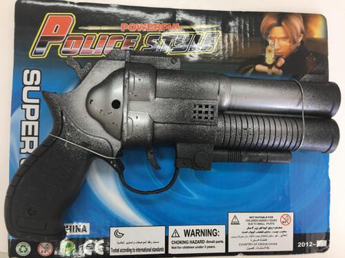 Police Style Double Barrel Gun