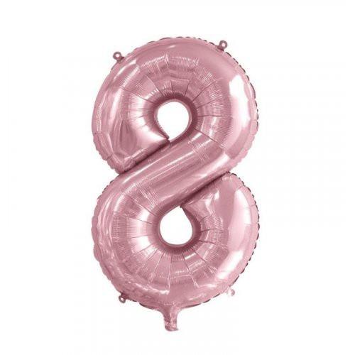 Number 8 Megaloon - Light Pink