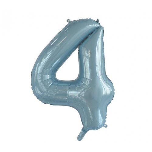 Number 4 Megaloon - Light Blue