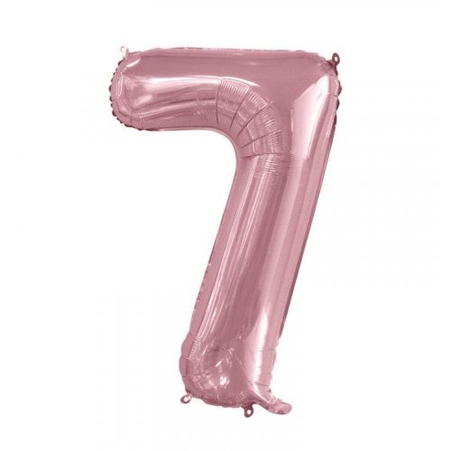 Number 7 Megaloon - Light Pink