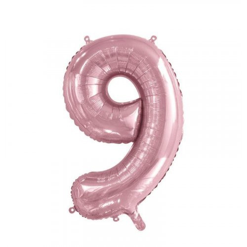 Number 9 Megaloon - Light Pink