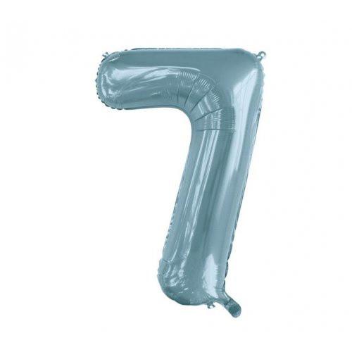 Number 7 Megaloon - Light Blue
