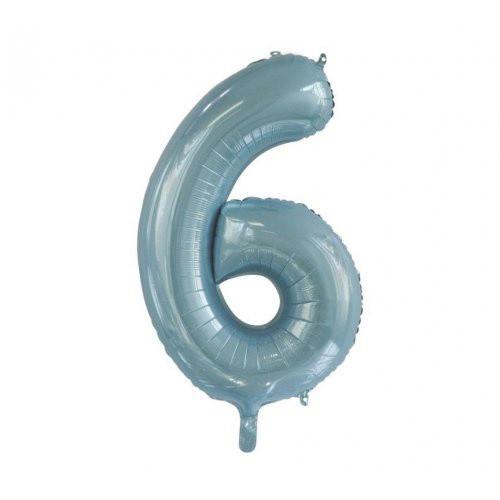 Number 6 Megaloon - Light Blue