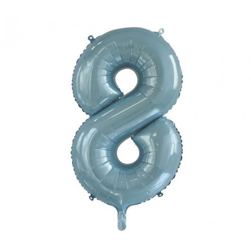 Number 8 Megaloon - Light Blue