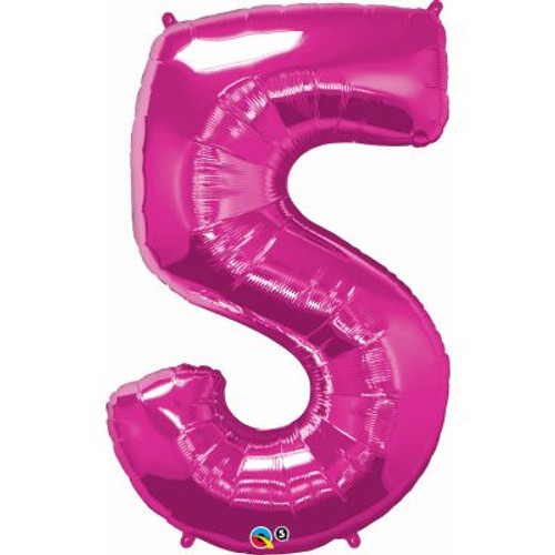 Number 5 Megaloon - Pink