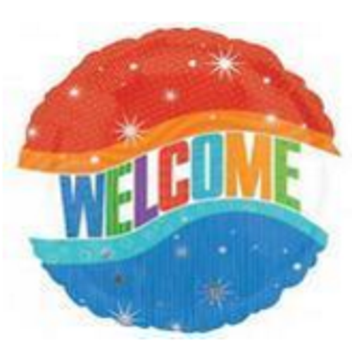 Welcome Foil Balloon